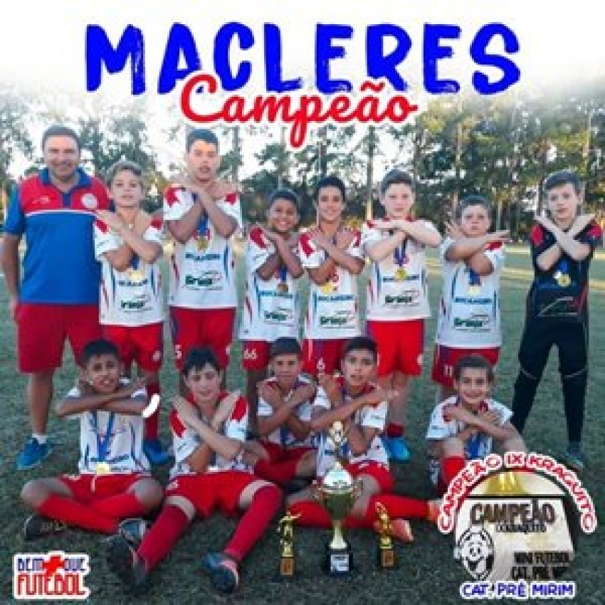 Macleres é campeão do Krakito 2019 com a categoria Mirim